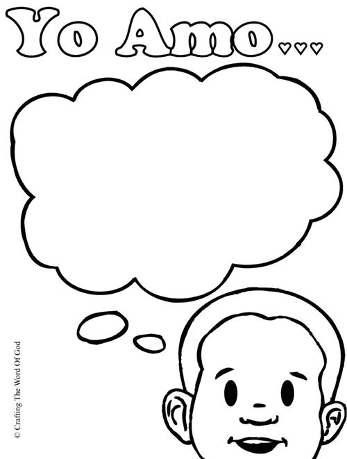 pagina de colorear « Manualidades Biblicas