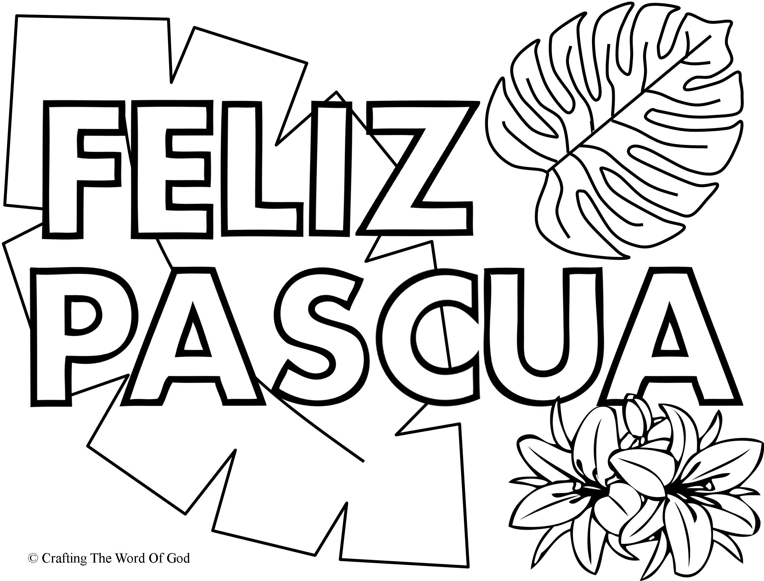 Bonito Pascua Para Colorear Jesús Festooning - Dibujos Para Colorear ...