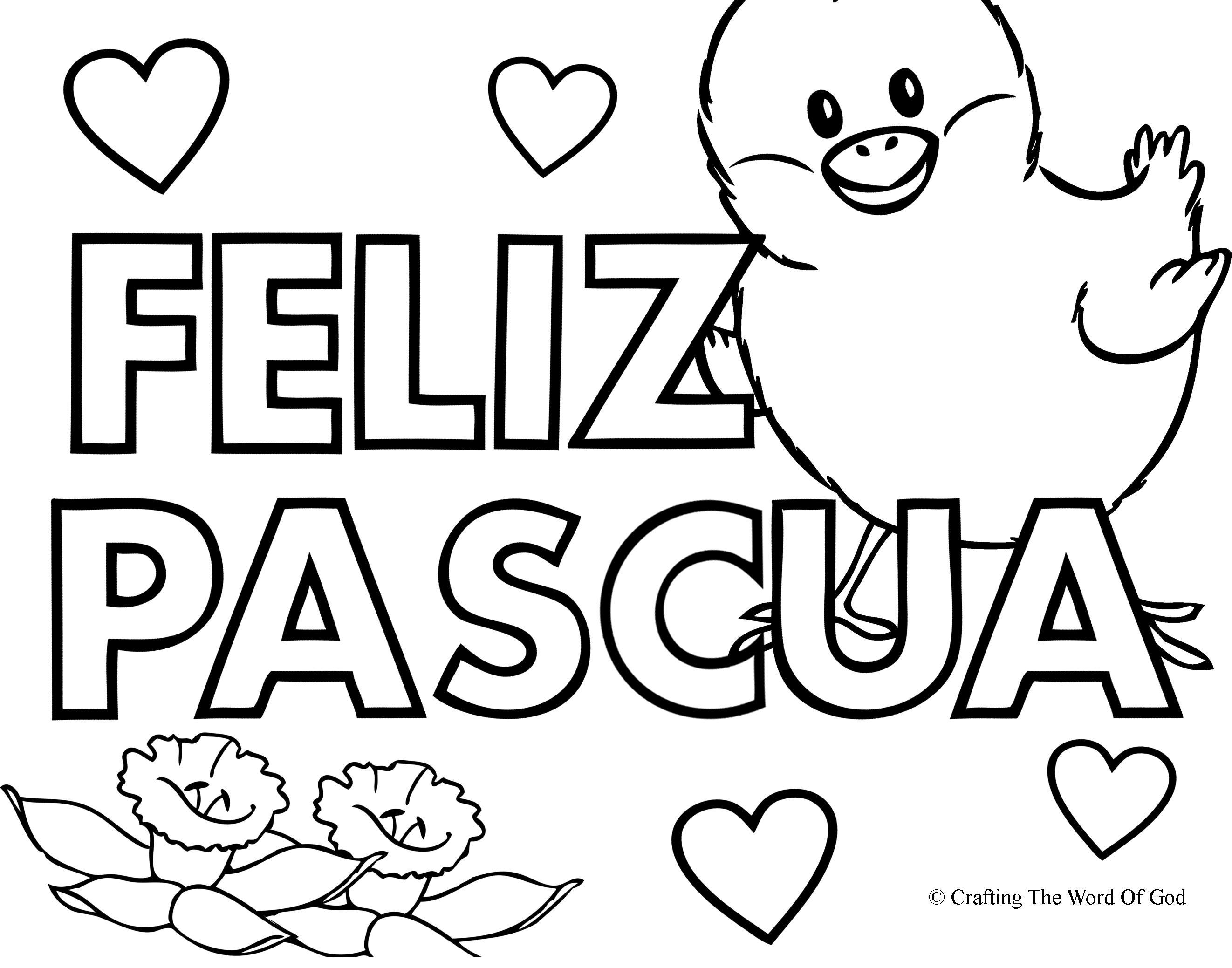 feliz pascua coloring pages | feliz pascua « Manualidades Biblicas