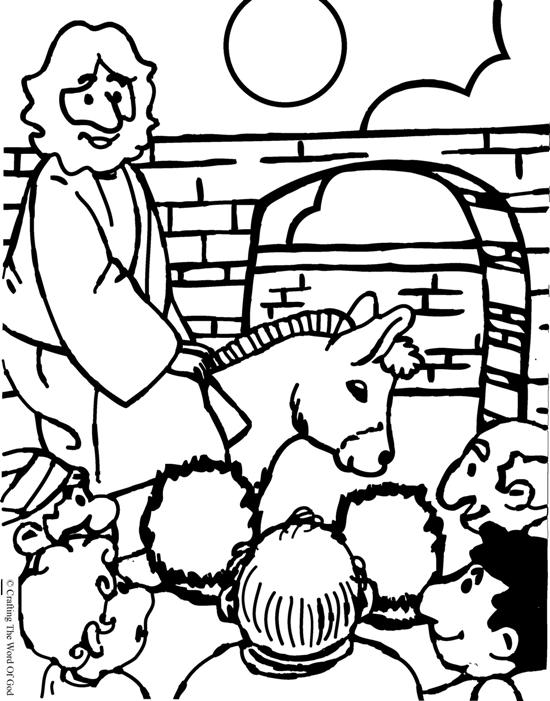 La Tumba De Jesus Colouring Pages