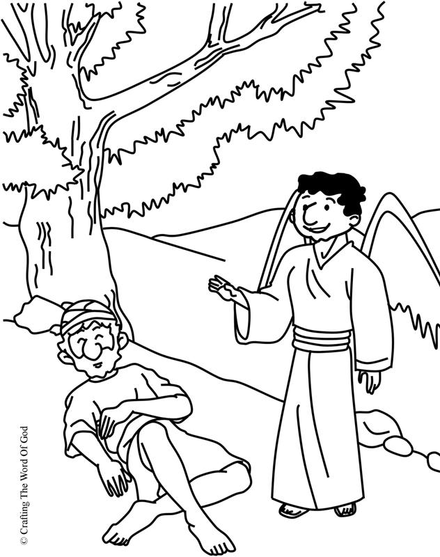 Elijah Bible Story Coloring Pages Coloring Pages