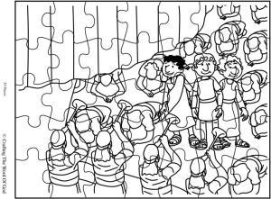 King Nebuchadnezzars Gold Statue Puzzle