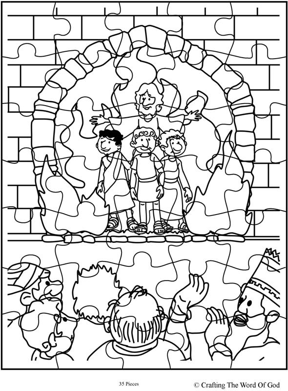 El Horno De Fuego- Pagina De Actividades « Manualidades Biblicas