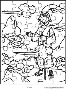 Elijah At Horeb Puzzle