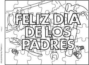 Feliz Dia De Los Padres 2 Rompecabezas
